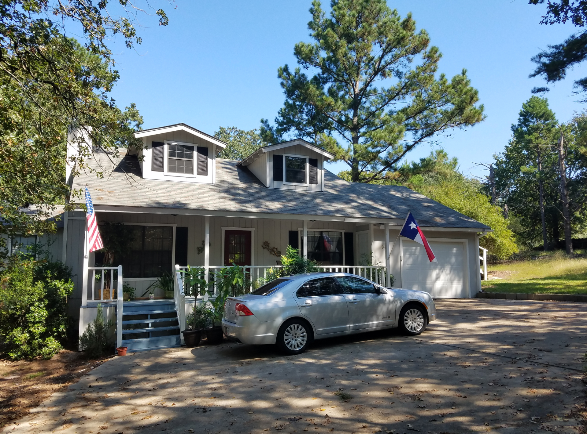 A photo of our house on Sonora Lane, September 2016